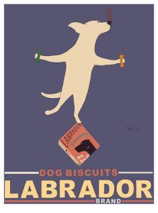 Yellow Lab Biscuits by Ken Bailey