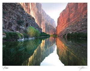 Santa Elena Canyon 3B by Ken Bremer