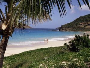 Beach at Anse Des Flamands, St. Barthelemy, West Indies, Central America by Ken Gillham
