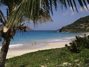 Beach at Anse Des Flamands, St. Barts (St. Barthelemy), West Indies, Caribbean, Central America by Ken Gillham