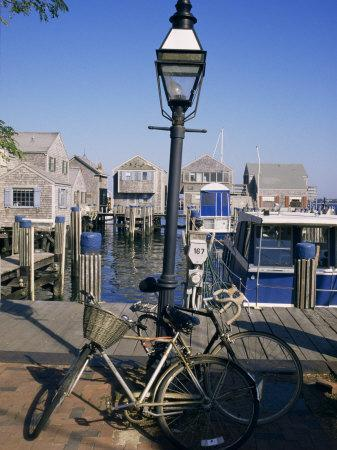Bicycles, Nantucket, Massachusetts, New England, USA