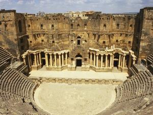Bosra, Syria, Middle East by Ken Gillham
