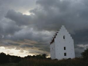 Buried Church, Klitplantage Reserve, Skagen, North Jutland, Denmark, Scandinavia by Ken Gillham