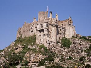 Castle Dating from the 14th Century, St. Michael's Mount, Cornwall, England, United Kingdom by Ken Gillham