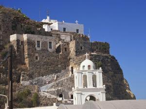 Castle, Mandraki, Nissyros, Dodecanese, Greek Islands, Greece, Europe by Ken Gillham