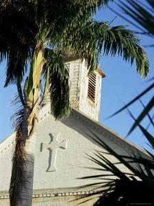 Episcopal (Anglican) Church, Dating from 1855, Gustavia, St. Barthelemy by Ken Gillham