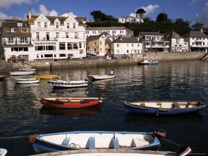 Harbour, St. Mawes, Cornwall, England, United Kingdom by Ken Gillham