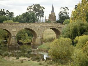 Oldest Bridge in Australia, Dating Form 1823, Richmond, Tasmania, Australia by Ken Gillham