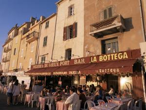Restaurants Around the Harbour, St. Tropez, Var, Cote d'Azur, Provence, France by Ken Gillham