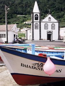 Santa Cruz Church, Ribeiras, Island of Pico, Azores, Portugal, Atlantic by Ken Gillham