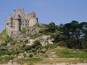 St. Michael's Mount, Castle, Cornwall, England, UK by Ken Gillham