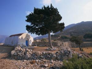 St. Stephanos Chapel, Tilos, Dodecanese, Greek Islands, Greece, Europe by Ken Gillham