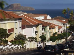 Street in Angra Do Heroismo, Terceira, Azores, Portugal, Atlantic, Europe by Ken Gillham