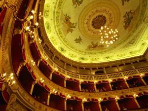Teatro Pirandello Theatre, Agrigento, Sicily, Italy, Europe by Ken Gillham