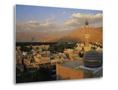 View from Nizwa Fort to Western Hajar Mountains, Nizwa, Oman, Middle East