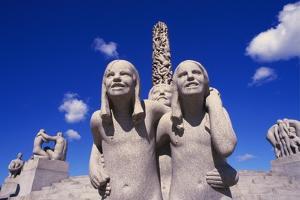 Vigeland Sculpture, Frogner Park, Oslo, Norway by Ken Gillham