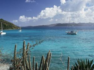 White Bay, Jost Van Dyke Island, British Virgin Islands, West Indies, Central America by Ken Gillham