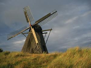 Windmill at Open Air Museum, Skagen, North Jutland, Denmark, Scandinavia, Europe by Ken Gillham
