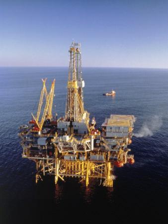 Off-Shore Oil Rig by Ken Glaser