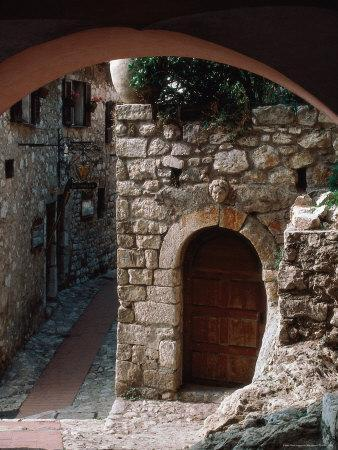 Stone Archway, Doorway, Provence, France