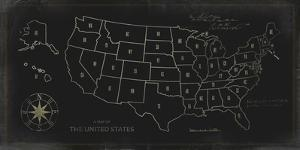 Map of The United States by Ken Hurd