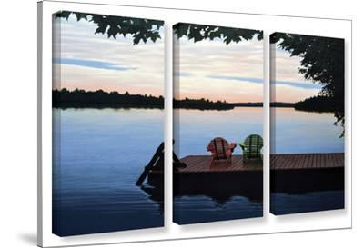 Tranquility, 3 Piece Gallery-Wrapped Canvas Set