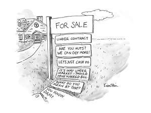 Captionless - New Yorker Cartoon by Ken Krimstein
