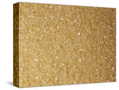 Brown and Coarse Turbinado Sugar Crystals from Sugarcane (Saccharum Officinarum)