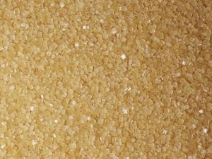 Brown and Coarse Turbinado Sugar Crystals from Sugarcane (Saccharum Officinarum) by Ken Lucas