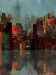 Blue New York by Ken Roko