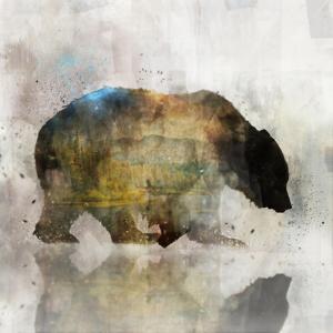 Journey Bear I by Ken Roko