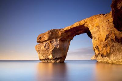 Europe, Maltese Islands, Gozo. the Famed Rock Formations of the Azure Window in Dwejra. by Ken Scicluna