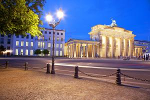 Germany, Berlin. Brandenburg Gate and Environs. by Ken Scicluna