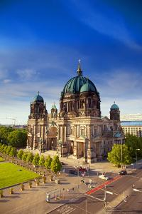 Germany, Berlin. Overview of the Cathedral. by Ken Scicluna