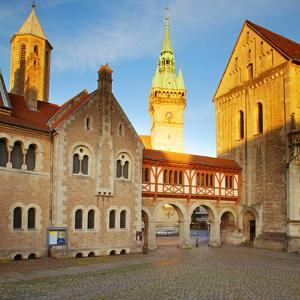 Germany, Lower Saxony, Braunschweig. Old Town Square. by Ken Scicluna