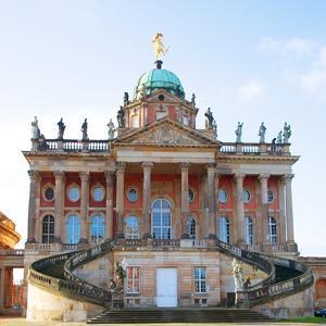 Germany, Potsdam, Berlin Brandenburg, Sanssouci. the Communs at the Sanssouci Royal Park. by Ken Scicluna