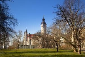 Germany, Saxony, Leipzig. the New City Hall. by Ken Scicluna