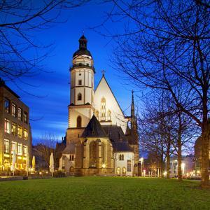 Germany, Saxony, Leipzig. Thomaskirche by Ken Scicluna