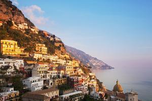 Italy, Amalfi Coast, Salerno Province. View of Positano. by Ken Scicluna