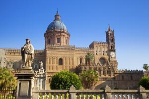 Italy, Sicily, Palermo. the Cathedral. by Ken Scicluna