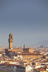 Italy, Tuscany, Florence. Palazzo Vecchio and Overview of Surroundings. by Ken Scicluna