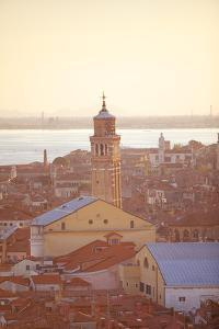 Italy, Veneto, Venice. Overview of the City. by Ken Scicluna