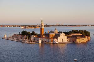 Italy, Veneto, Venice. the Island of San Giorgio Maggiore with its Famed Church. Unesco. by Ken Scicluna