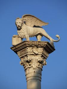 Italy, Veneto, Vicenza, Western Europe, 'Leone Di San Marco' a Symbol Dating from Glorious Times of by Ken Scicluna