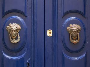 Malta, Europe, Ornamental Door Knobs Found on an Old House in Rabat by Ken Scicluna