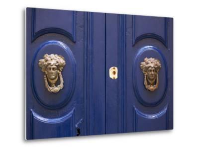 Malta, Europe, Ornamental Door Knobs Found on an Old House in Rabat