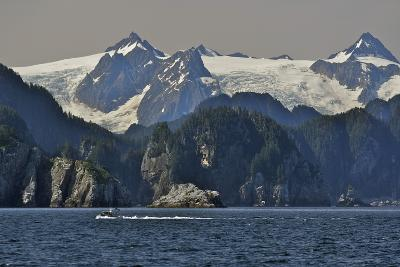 Kenai Fjords Tour Boat in Resurrection Bay Near Seward, Alaska During Summer-Design Pics Inc-Photographic Print