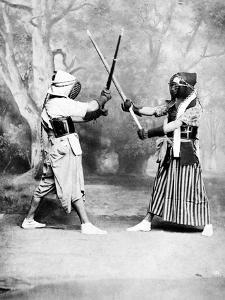 Kendo, or Japanese Fencing, C.1860-80