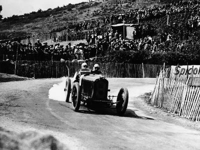 Kenelm Lee Guinness in a 6 Cylinder Sunbeam, French Grand Prix, Lyons, 1924--Photographic Print