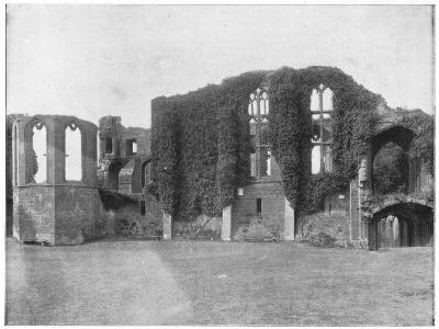 Kenilworth Castle, England, Late 19th Century-John L Stoddard-Giclee Print